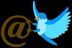 Using Twitter '@mention' to Find a Job